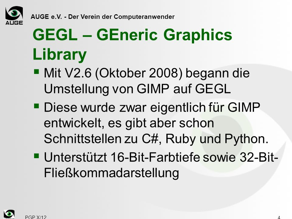 GEGL – GEneric Graphics Library