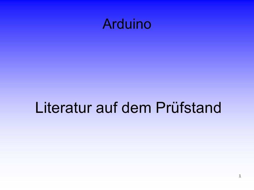 Literatur auf dem Prüfstand