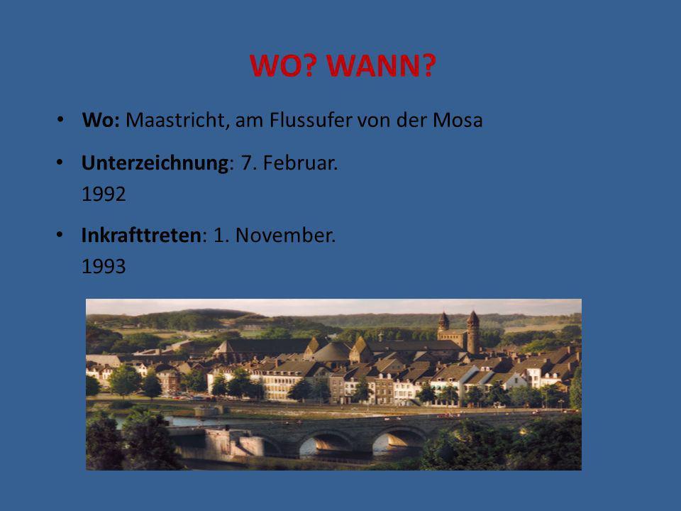 WO WANN Wo: Maastricht, am Flussufer von der Mosa