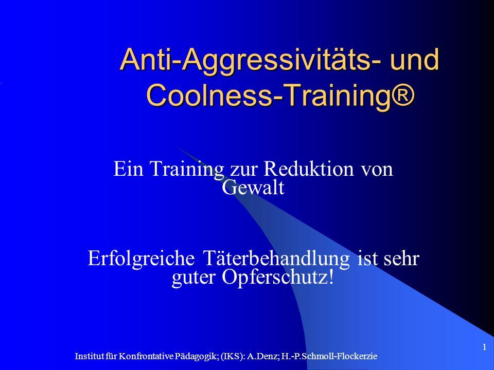 Anti-Aggressivitäts- und Coolness-Training®