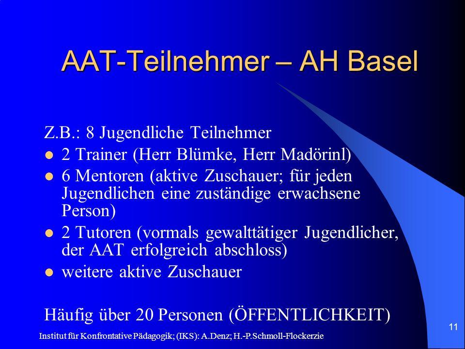 AAT-Teilnehmer – AH Basel