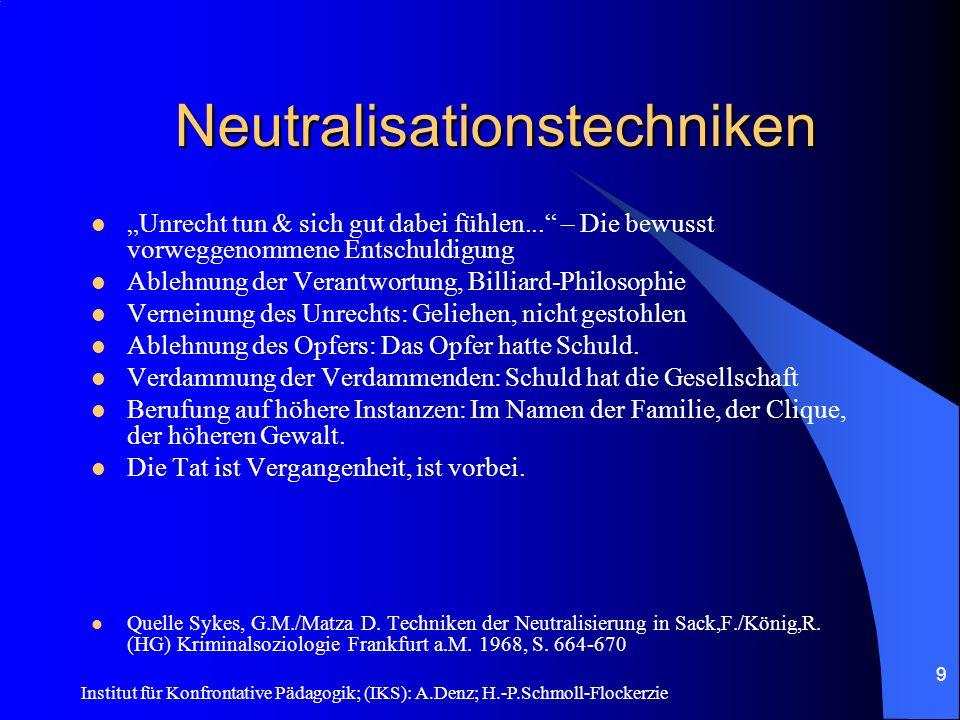 Neutralisationstechniken