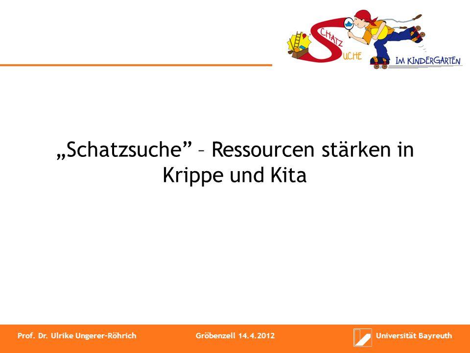 """""""Schatzsuche – Ressourcen stärken in Krippe und Kita"""
