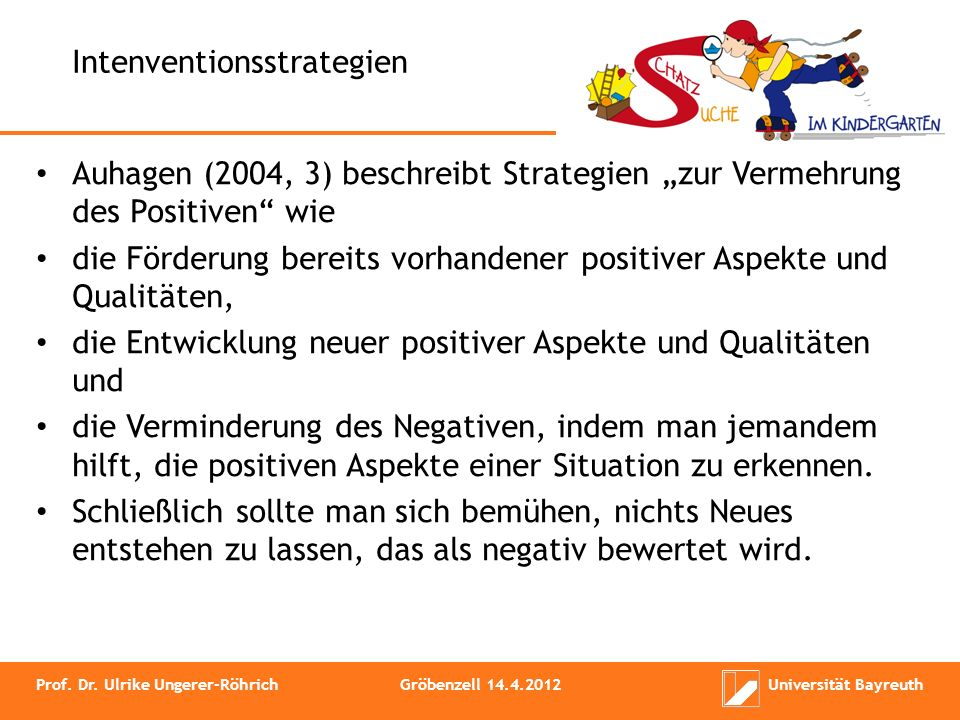 Intenventionsstrategien