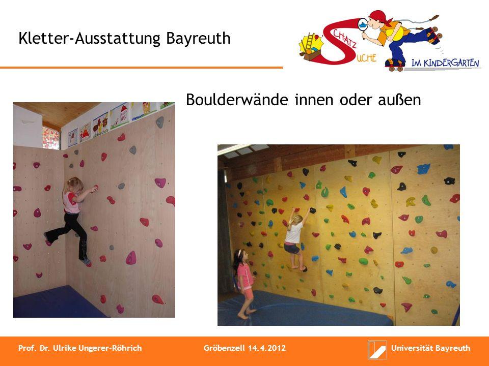 Kletter-Ausstattung Bayreuth