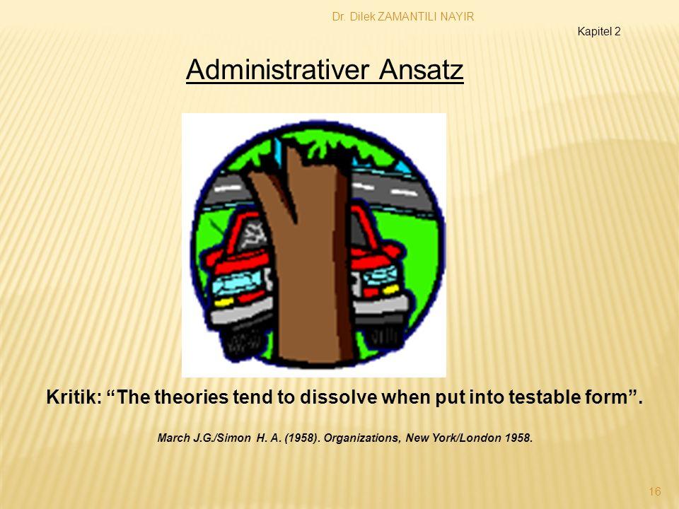 Administrativer Ansatz