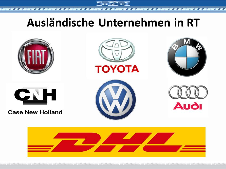 Ausländische Unternehmen in RT