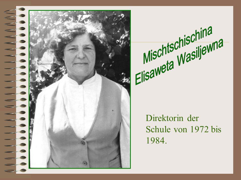 Mischtschischina Elisaweta Wasiljewna