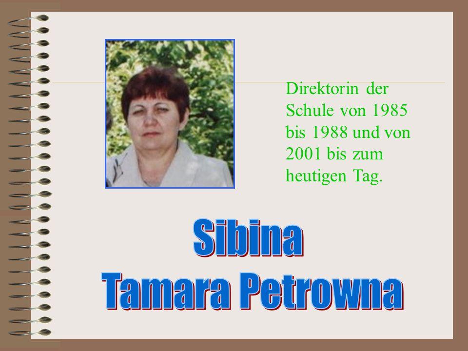 Sibina Tamara Petrowna