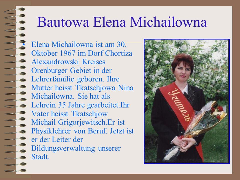 Bautowa Elena Michailowna