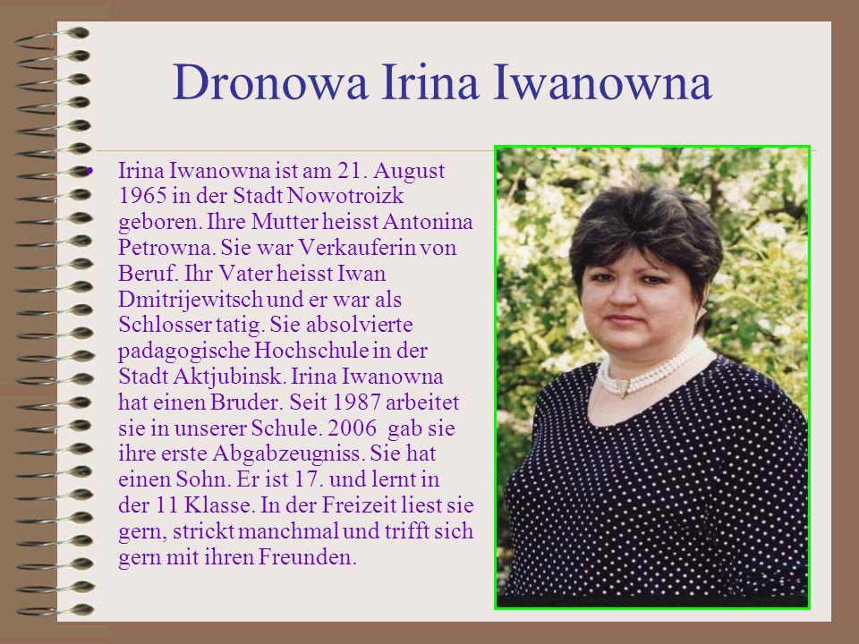 Dronowa Irina Iwanowna