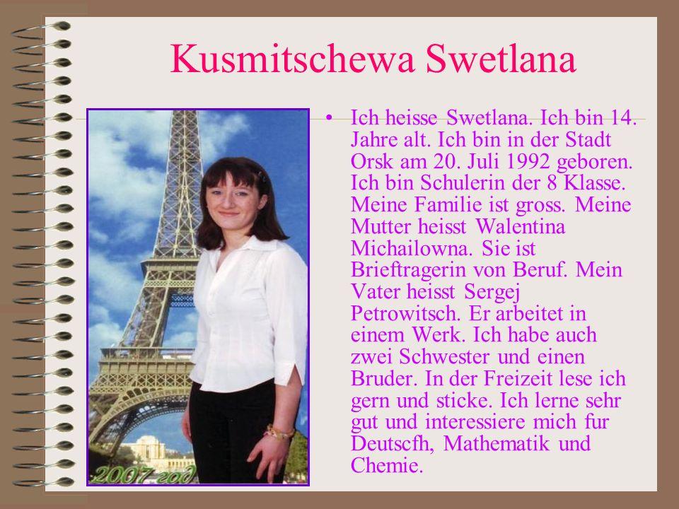Kusmitschewa Swetlana
