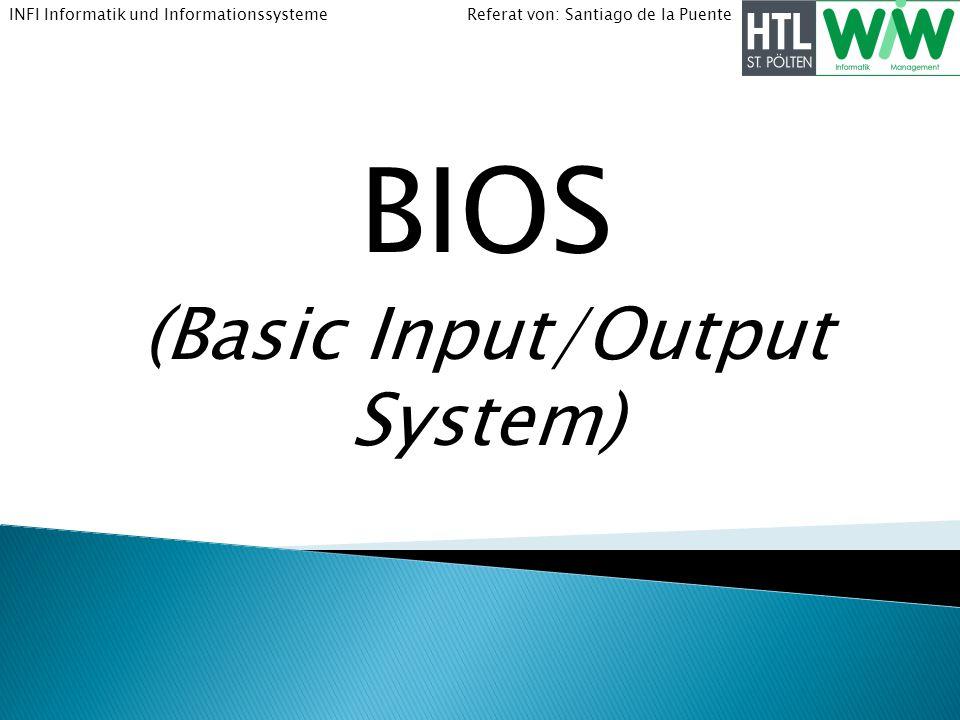 BIOS (Basic Input/Output System)
