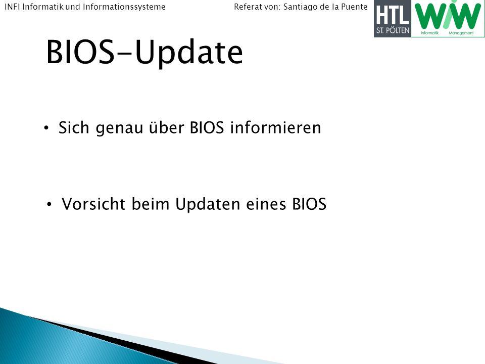 BIOS-Update Sich genau über BIOS informieren