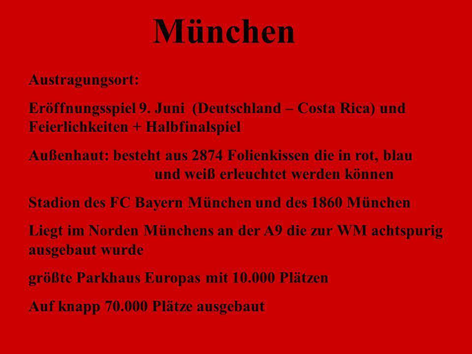 München Austragungsort: