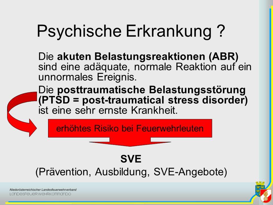 Psychische Erkrankung