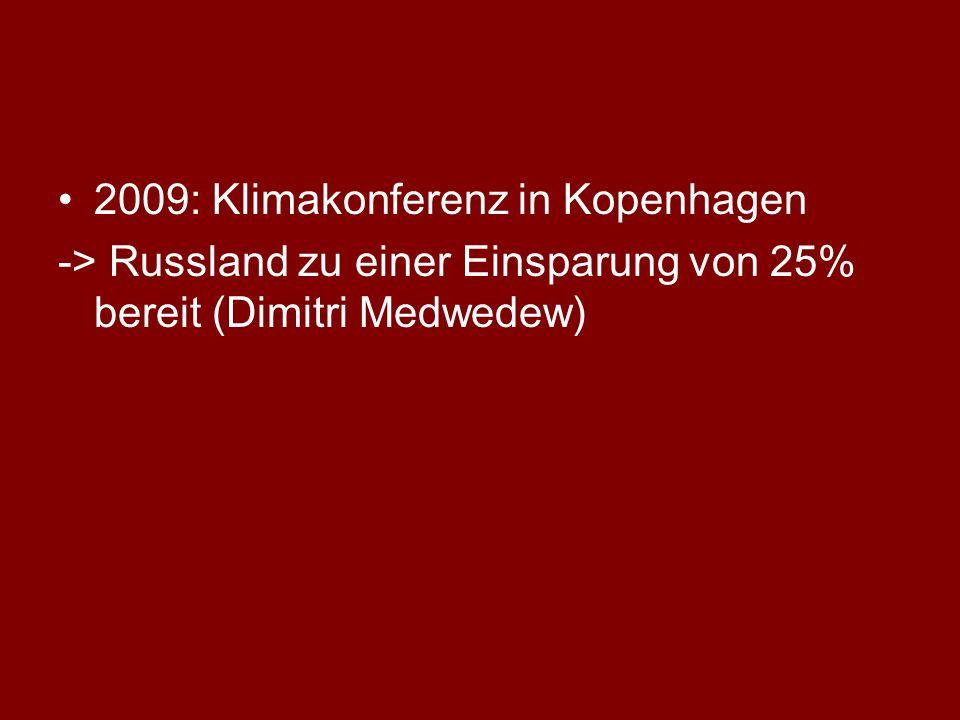 2009: Klimakonferenz in Kopenhagen