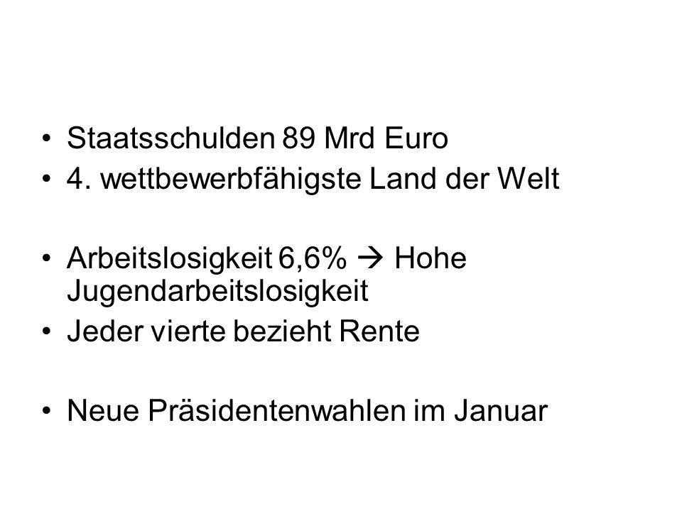 Staatsschulden 89 Mrd Euro