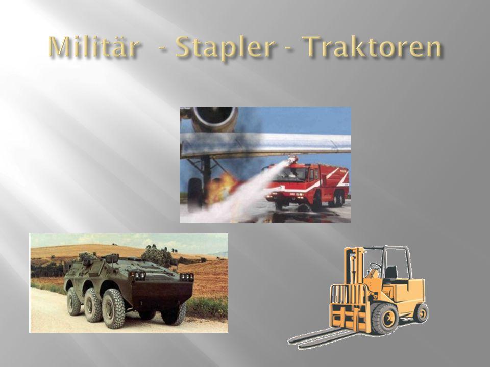 Militär - Stapler - Traktoren