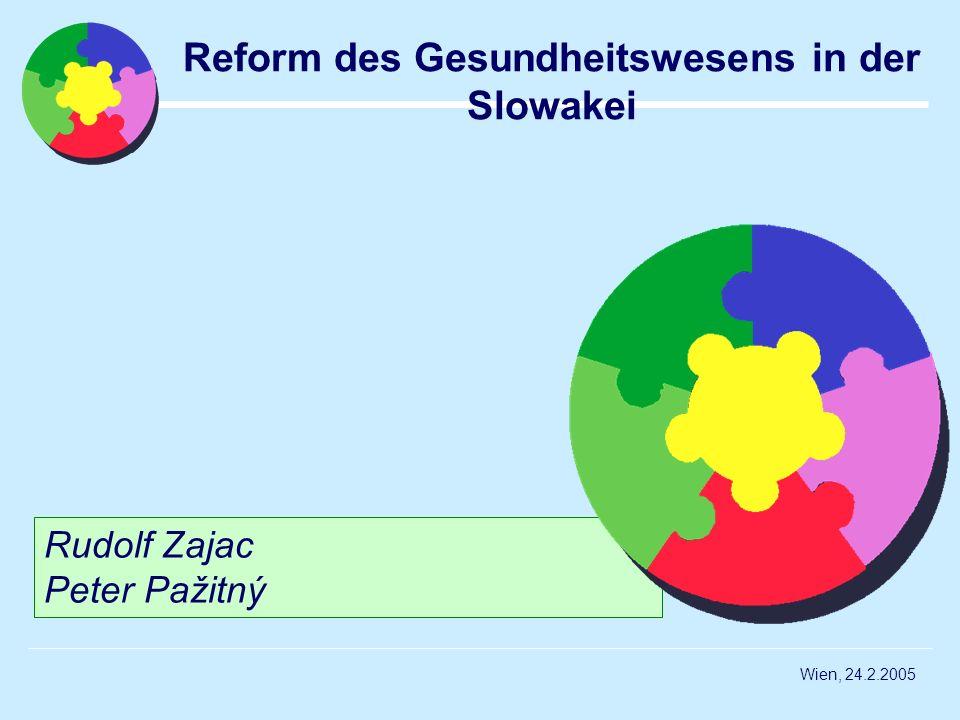Reform des Gesundheitswesens in der Slowakei