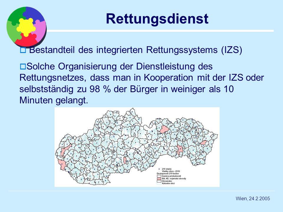 Rettungsdienst Bestandteil des integrierten Rettungssystems (IZS)