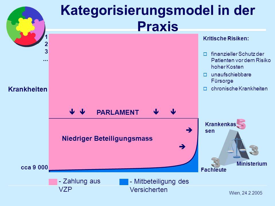 Kategorisierungsmodel in der Praxis