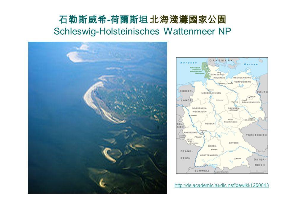 石勒斯威希-荷爾斯坦 北海淺灘國家公園 Schleswig-Holsteinisches Wattenmeer NP