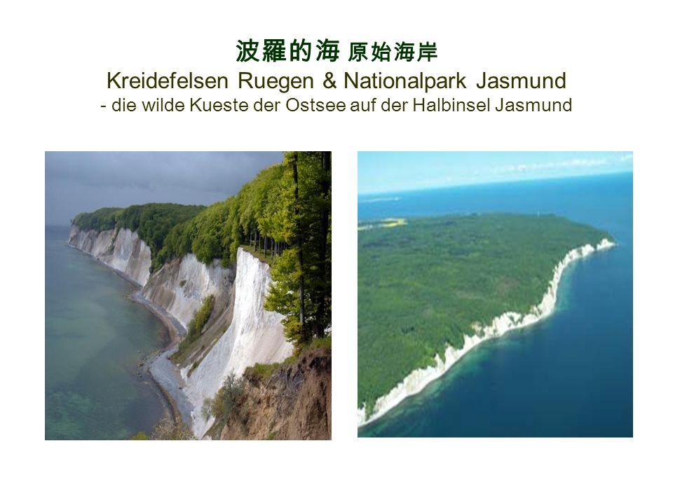 波羅的海 原始海岸 Kreidefelsen Ruegen & Nationalpark Jasmund - die wilde Kueste der Ostsee auf der Halbinsel Jasmund