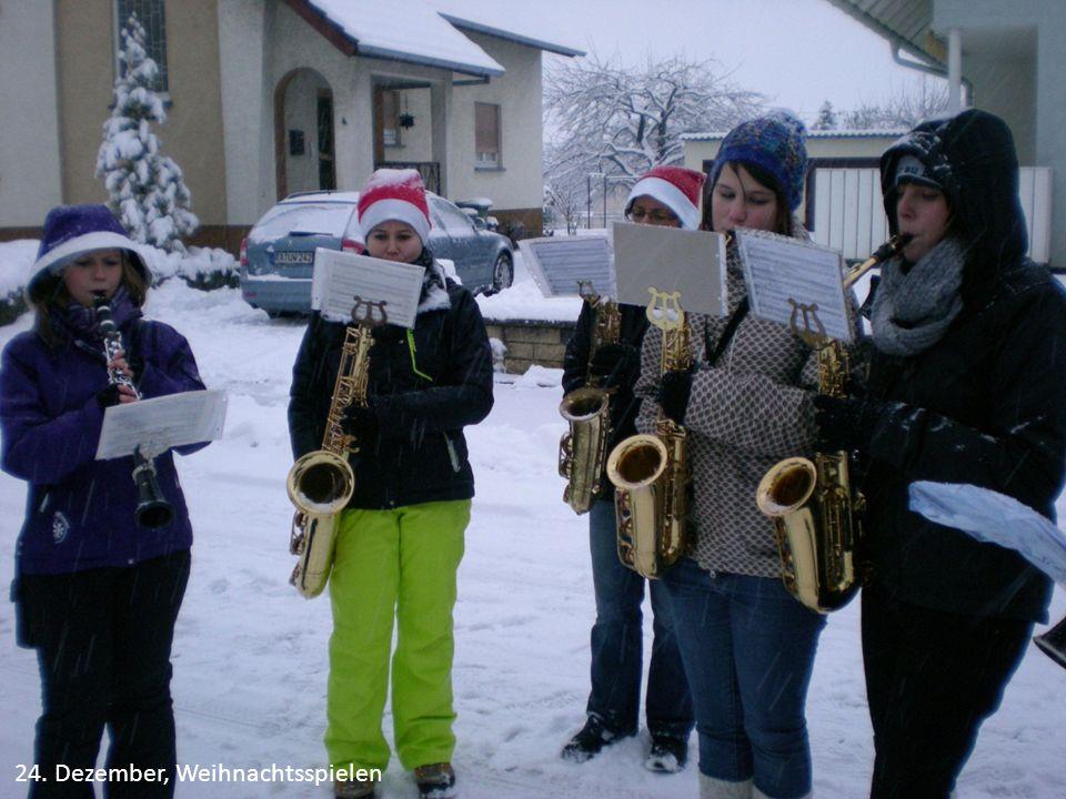 24. Dezember, Weihnachtsspielen