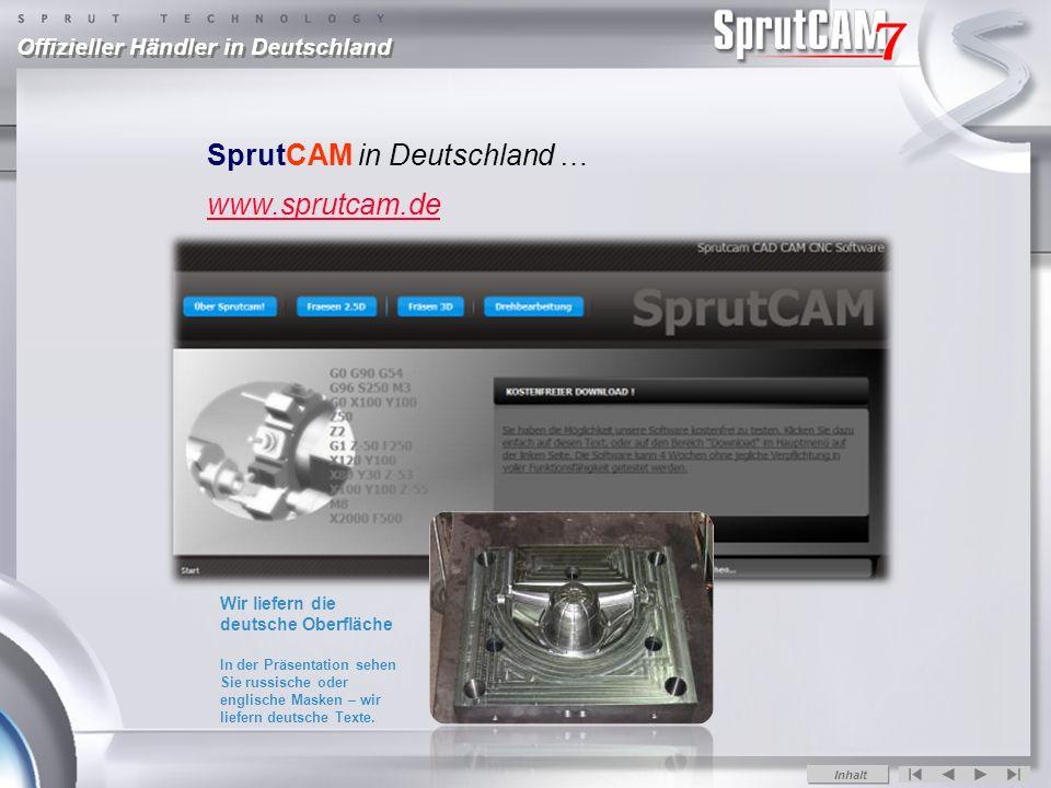 SprutCAM in Deutschland … www.sprutcam.de