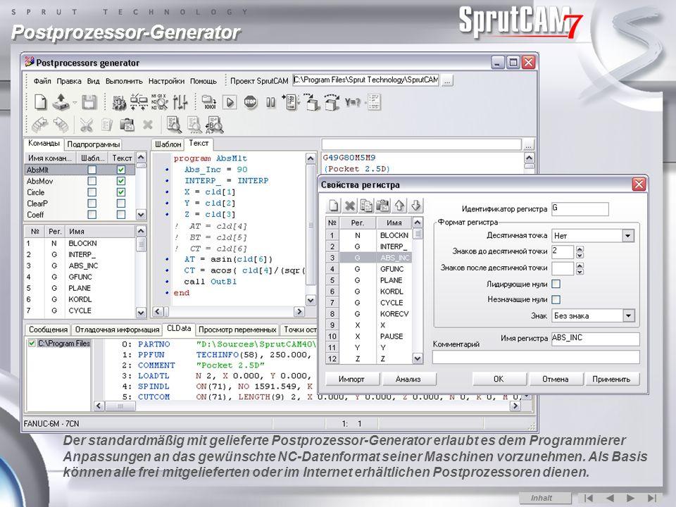 Postprozessor-Generator