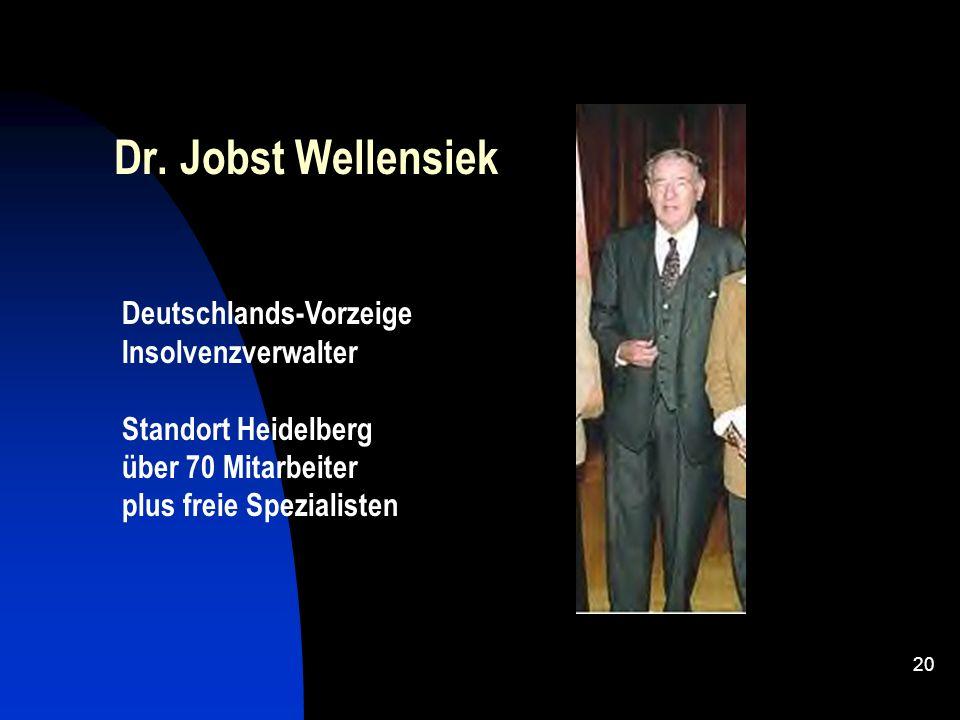 Dr. Jobst Wellensiek Deutschlands-Vorzeige Insolvenzverwalter