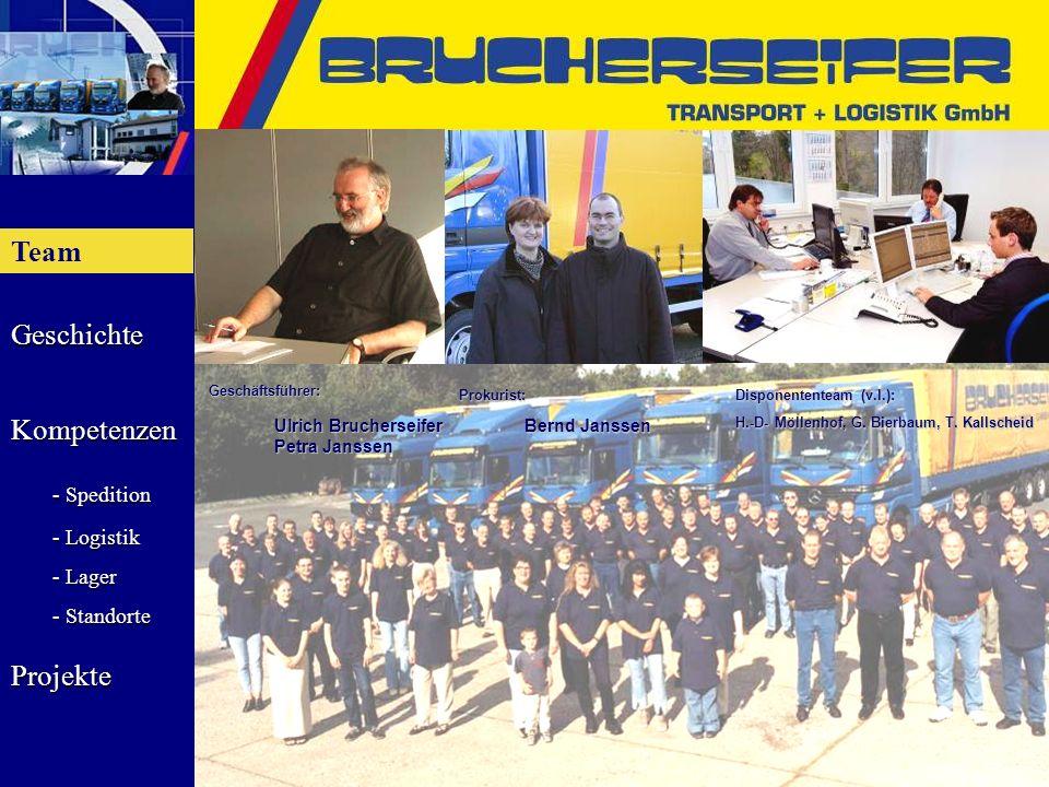 Team Ulrich Brucherseifer Bernd Janssen Petra Janssen Geschäftsführer:
