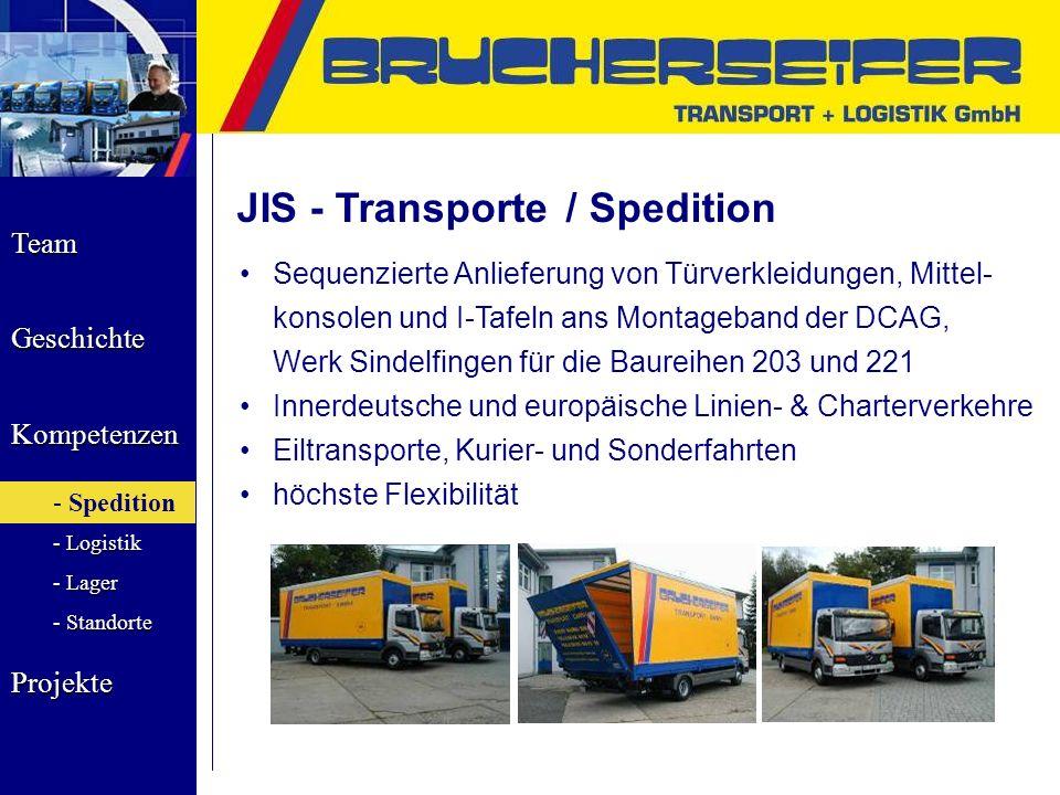JIS - Transporte / Spedition