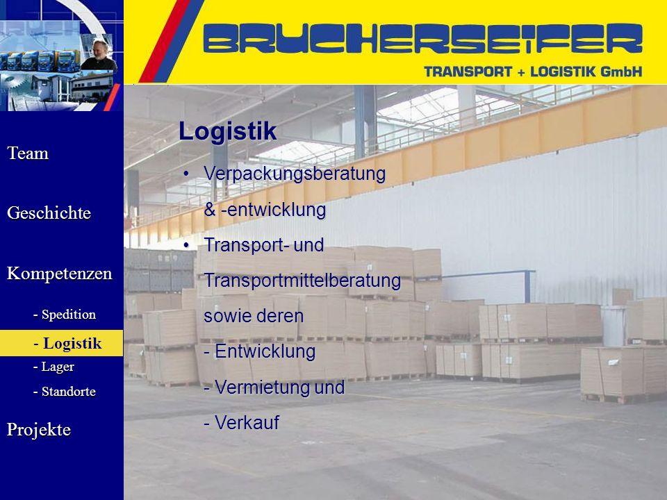 Logistik Verpackungsberatung & -entwicklung Transport- und