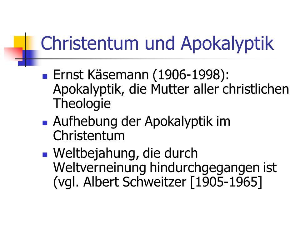 Christentum und Apokalyptik