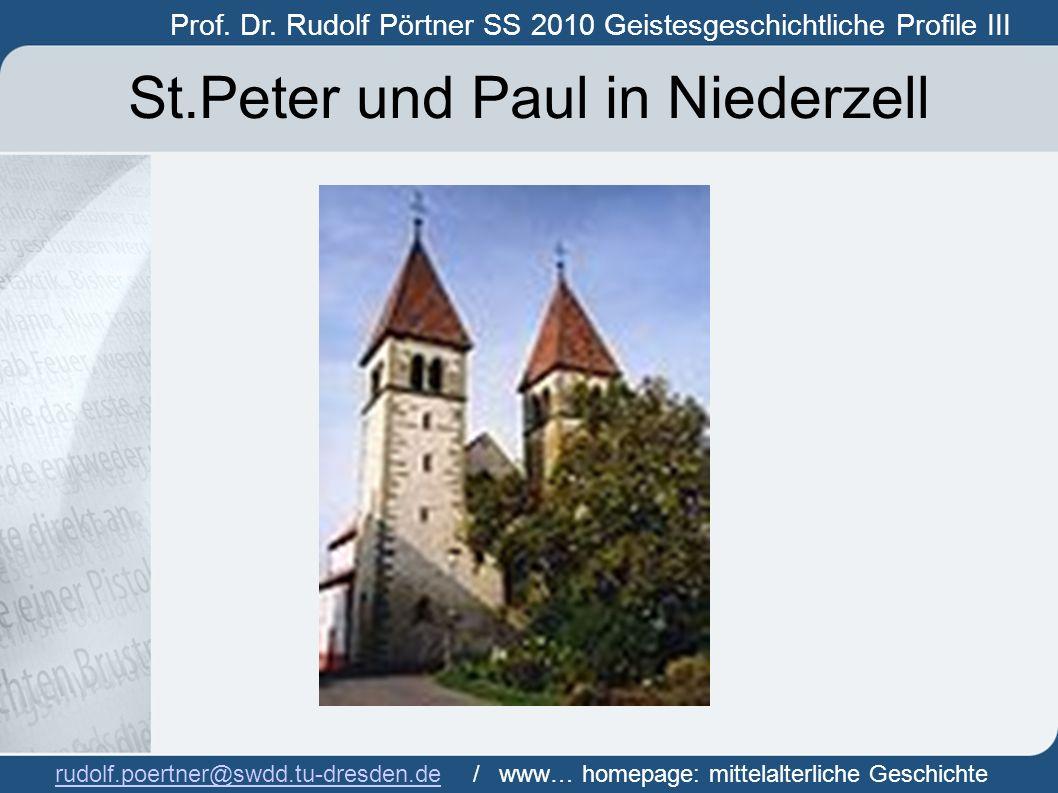 St.Peter und Paul in Niederzell