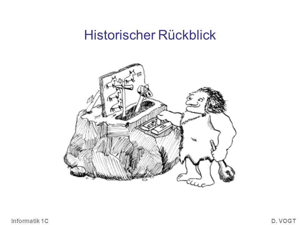 Historischer Rückblick