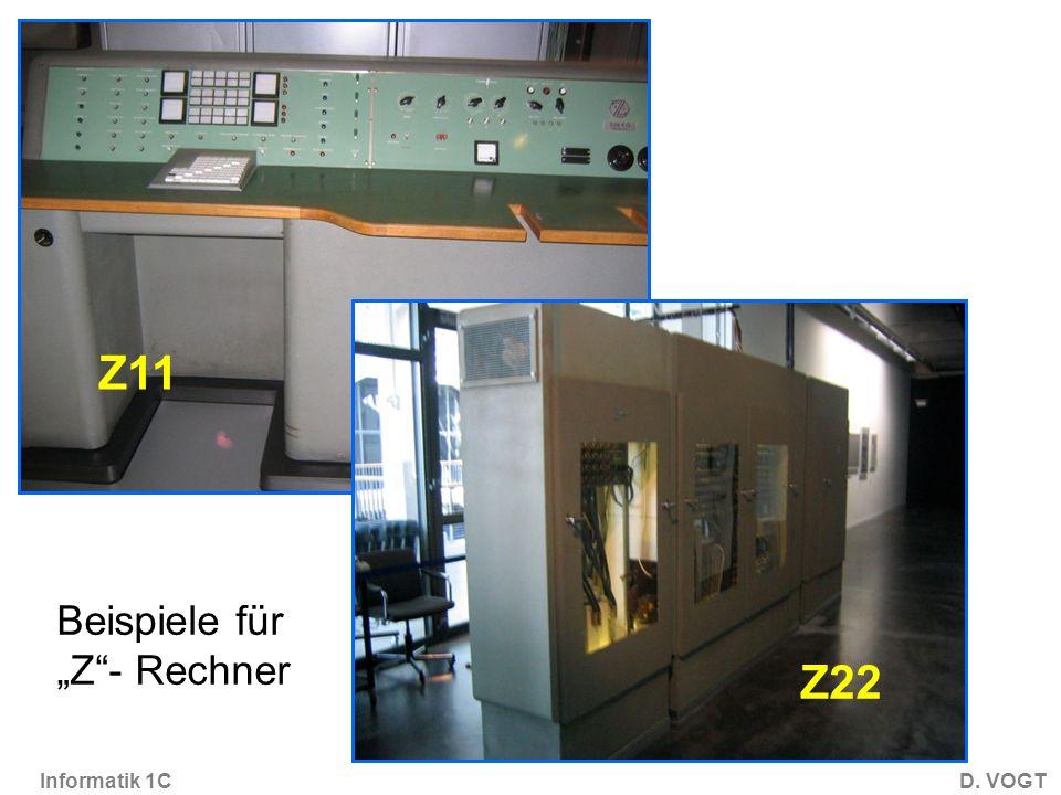 """Z22 Z11 Beispiele für """"Z - Rechner"""
