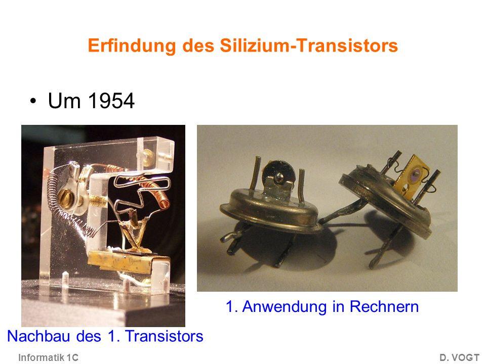 Erfindung des Silizium-Transistors