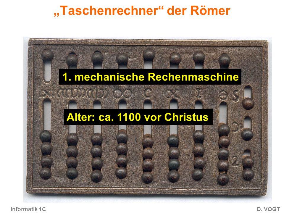 """""""Taschenrechner der Römer"""