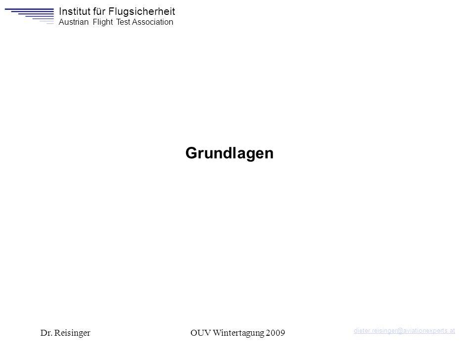Grundlagen Dr. Reisinger OUV Wintertagung 2009