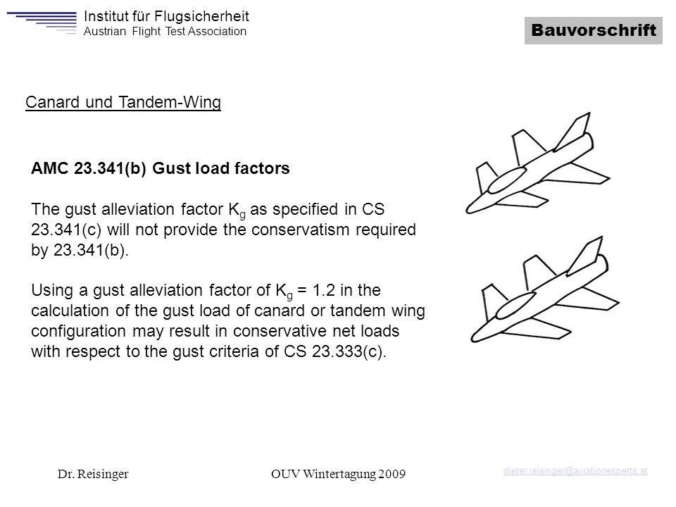 Canard und Tandem-Wing