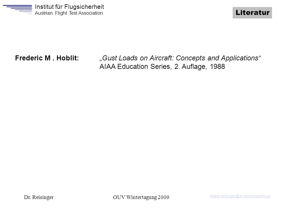 AIAA Education Series, 2. Auflage, 1988