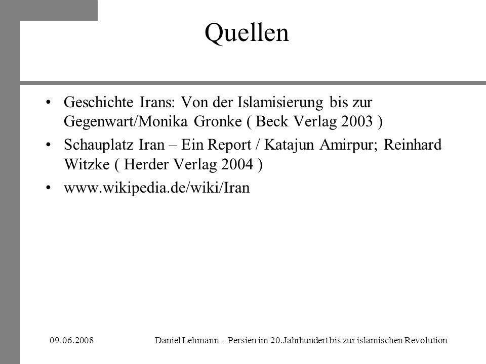 Quellen Geschichte Irans: Von der Islamisierung bis zur Gegenwart/Monika Gronke ( Beck Verlag 2003 )