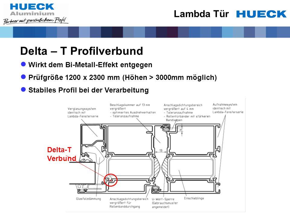Delta – T Profilverbund