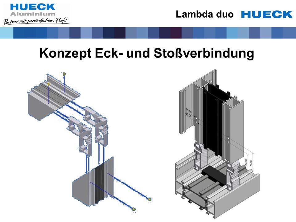 Konzept Eck- und Stoßverbindung