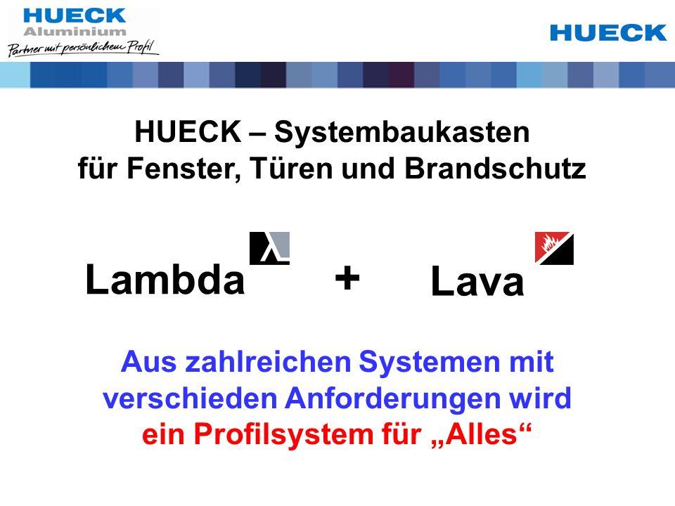 + Lambda Lava HUECK – Systembaukasten