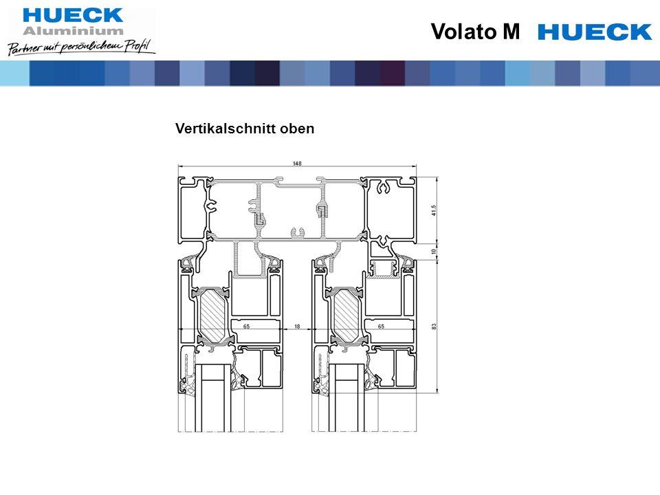 Volato M Vertikalschnitt oben