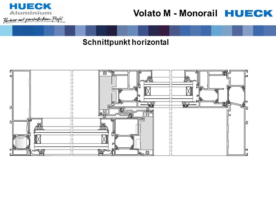 Volato M - Monorail Schnittpunkt horizontal